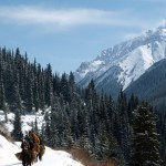 Fjellidyll på hesteryggen