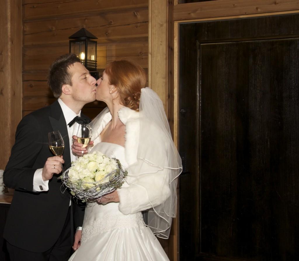 Fy fabian for et nydelig brudepar