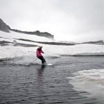 Camilla Undeland på Vikafjellet