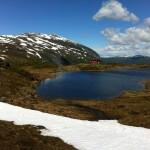Røde kors-hytta på toppen av Raugstad