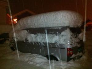 Snø i Sogndal