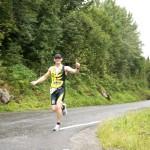 Løping langs Tinnsjå