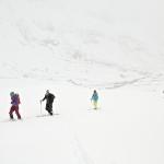 På vei til Lammanipa i snøvær