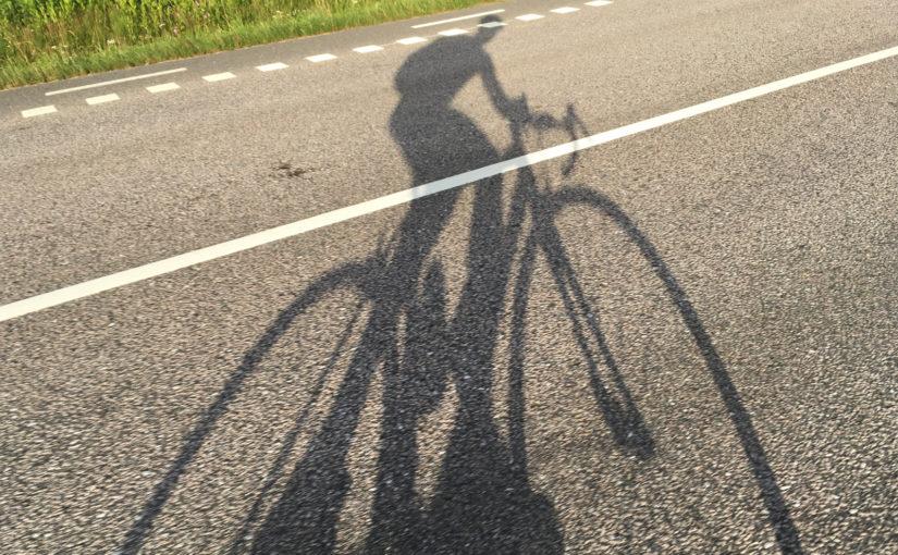 Sykkel i skygge